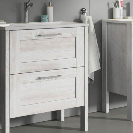 Шкаф в ванную цвета Сосна Касцина